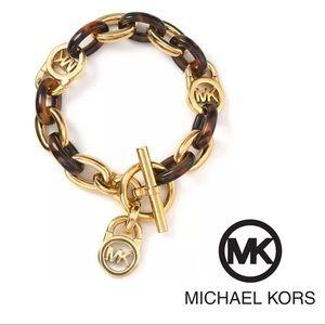 Michael kors signature bracelet
